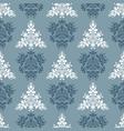 blue royal spring seamless seasonal background vector image