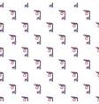 Platform railway pattern seamless vector image