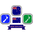 symbol of New Zealand vector image