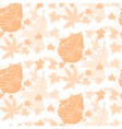 Autumn seamless pattern background vector
