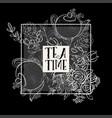 tea time design banner templates set vector image