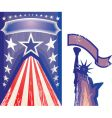 american card vector image