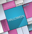 Halloween icon symbol Flat modern web design with vector image