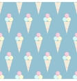 Ice cream pattern - stock vector image