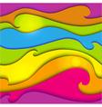 Rainbow seamless background vector image