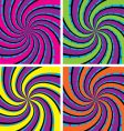 Acid swirls Vector Image