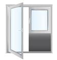 door - realistic vector image vector image