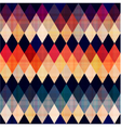 colorful seamless argyle pattern vector image