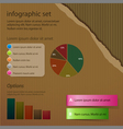 corrugated cardboard infographic vector image