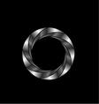 aperture- photography logo vector image
