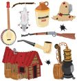 hillbilly clipart icons vector image vector image
