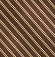 vintage diagonal stripes seamless pattern vector image