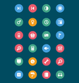 Web and Mobile Icons 5 vector image