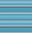 Blue chevrons seamless pattern background retro vector image