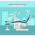 Dental Room Poster vector image