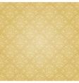 Golden ethnic festive pattern vector image
