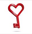 key to my heart vector image