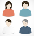 People icon vector image