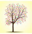 Spring summer tree vector image