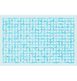 squared grid with spiked lines vector image