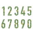 Set of figures vector image