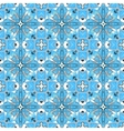 Beautiful seamless ornamental tile background vector image