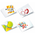 Modern Business-Card vector image vector image