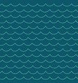 seamless cartoon sea pattern vector image