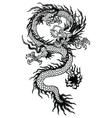 Oriental Dragon vector image