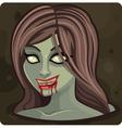 Symbol 10 Girl zombie vector image