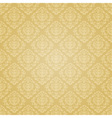 Golden festive seamless pattern vector image