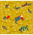 Christmas Backgound vector image