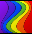 Colorful Stack Background vector image