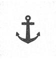 Retro anchor icon Stock of anchor icon vector image