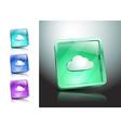 cloud symbol icon sign vector image