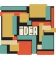 Idea word typography background vector image