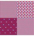 patriotic patterns vector image