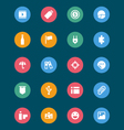 Web and Mobile Icons 6 vector image