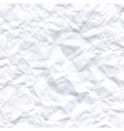 A crumpled paper design Background vector image