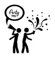 Party design vector image