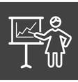 Business Presentation vector image
