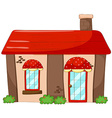 Single house vector image vector image