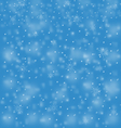 Blue blizzard vector image