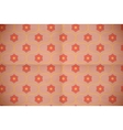 Seamless pink floral pattern on the aged cardboard vector image