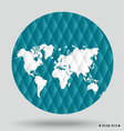World map and earth globes vector image