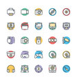 Multimedia Cool Icons 1 vector image