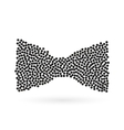 Abstract creative concept icon of bowtie vector image