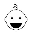 Baby icon vector image