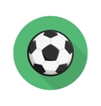 Soccer ball icon vector image