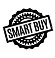 smart buy rubber stamp vector image